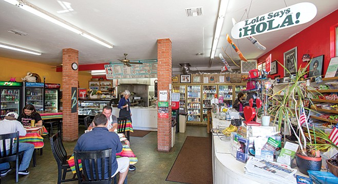 Lola's 7-Up Market serves as Barrio Carlsbad's unofficial meeting hall. - Image by Andy Boyd