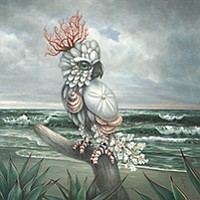 Opening reception for the fantastical creatures by Heather McKey