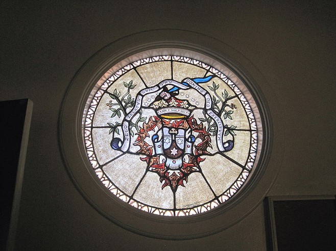 The stained-glass windows will be saved and offered to the Carmelites.
