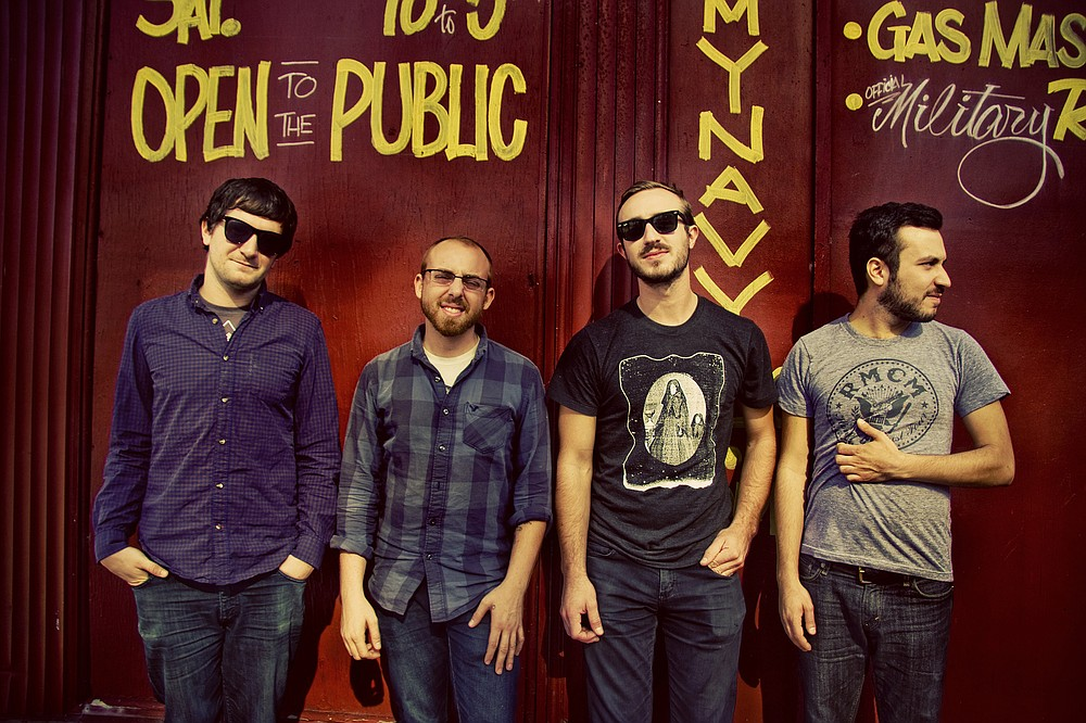 Punk-rock four-piece the Menzingers will headline sets at the all-ages Irenic Sunday night.