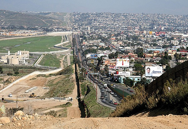 Sanctions, trade wars, tariffs, and blockades often lead to dire unintended consequences. Image: The U.S.-Mexico border.