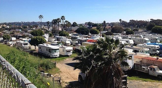 Coastal Trailer Villa RV park