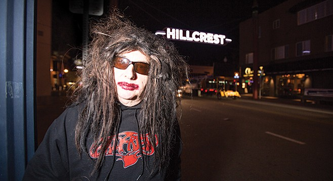 Gary Wilson, in Hillcrest, where he's lived since 1978.