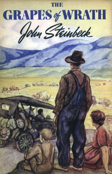 "As a boy, John remembered seeing the film version of The Grapes of Wrath when his father screened it for guests. ""I was quite young. It was the most depressing thing I'd ever seen in my life."""