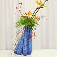 Ikebana, the fine art of flower arrangement