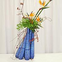 Ikebana, the fine art of flower arrangement