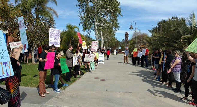 """""""In the seven months that he's been here, he's created a lot of problems,"""" said Palomar's faculty union president."""