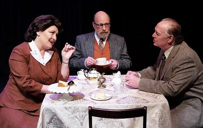 Deborah Gilmour Smyth, Brian Salmon, and Robert Smyth in Shadowlands