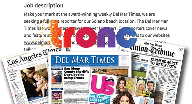 Are tronc's dabblings with other publications going to serve the Union-Tribune well?