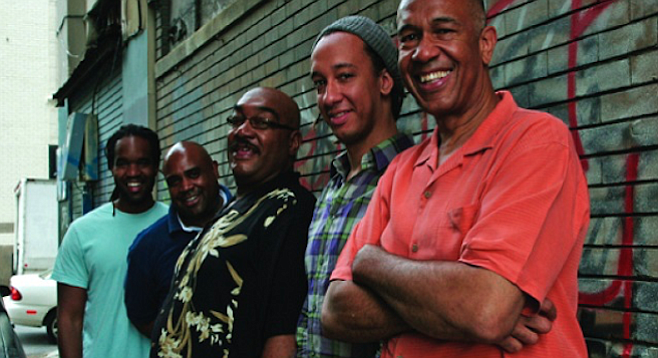 The Clayton Brothers Quintet with John and Jeff Clayton, Terell Stafford, Eric Reed, and Obed Calvaire play the Athenaeum Jazz at the Scripps Research Institute on Monday.