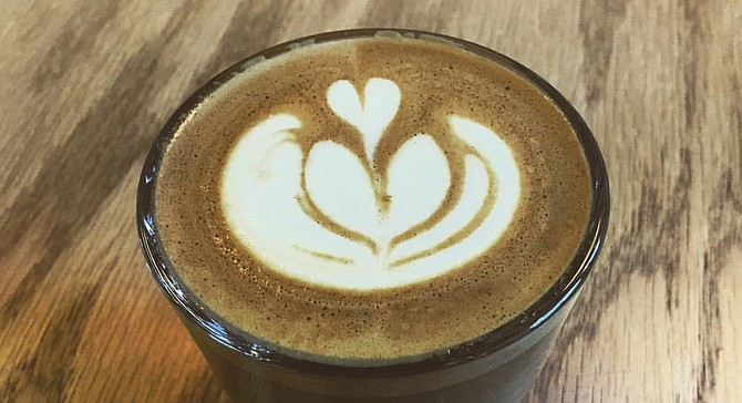 A latte served at Steady State Coffee, which competes for the national roaster championship in April.