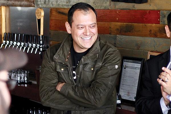 Carlos Macklis — owner of Norte Brewing Co., works as truck-shock designer at ProComp in Chula Vista.