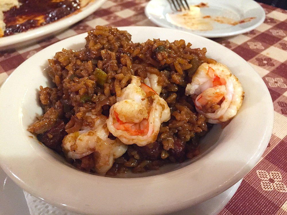 The petite version of the Dark Jambalaya