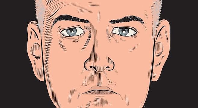 Daniel Clowes of Ghost World  shares a self-portrait