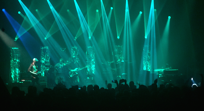Umphrey's McGee came back after a brief intermission fired up and delivered the stronger fist of their one-two punch.