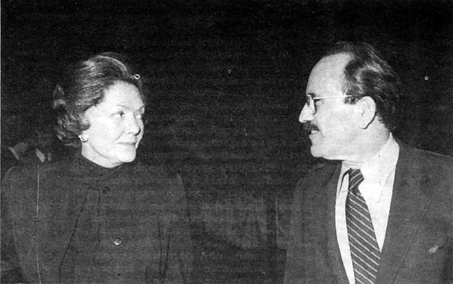 "Helen Copley, Richard Silberman. Tuck claimed that Helen Copley was ""apparently determined to force a strike to wipe out the union"""