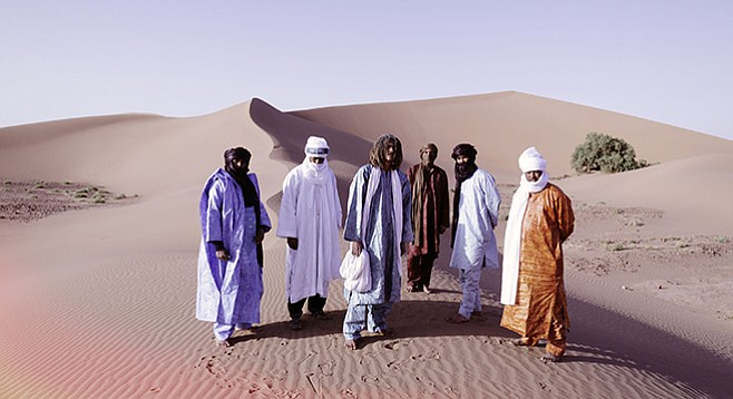 Mali's Grammy-winning Tinariwen found musical inspiration from the Roy Orbison film The Fastest Gun Alive — his guitar shot bullets.
