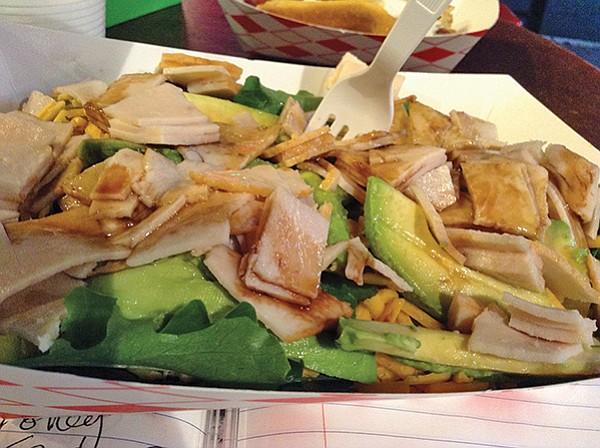 Hot Dog Bar's salad