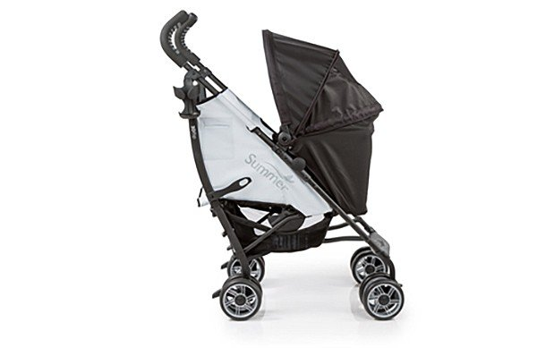 The Summer Infant 3D Flip Convenience is an umbrella stroller that can face rear for an infant. Lucy absolutely loves this.