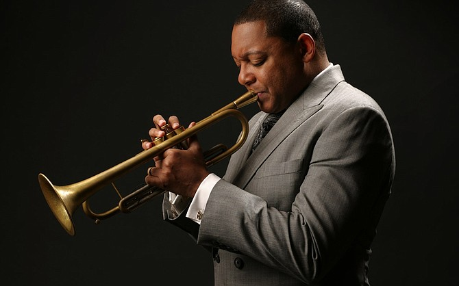 Composer and trumpeter Wynton Marsalis.