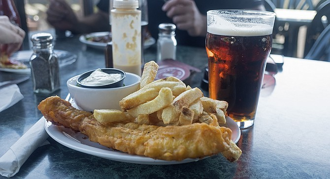 Simple fish and chips for the win
