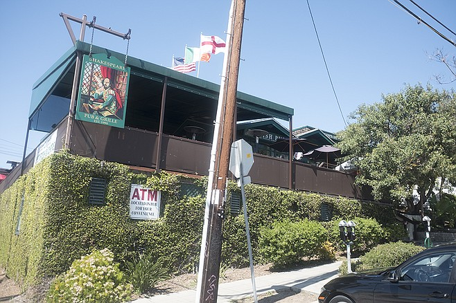 Shakespeare's Pub has stood on this corner since 1990, when the fish and chips cost $5.95.