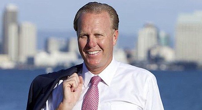 "Mayor Faulconer. The report: ""A split transaction involves breaking up a high-dollar purchase into smaller transactions in order to circumvent the internal controls."""