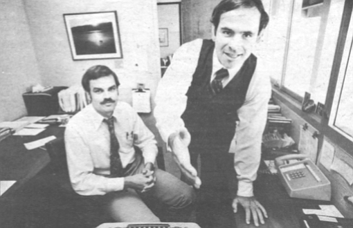 "Otto Bos, Bob White. When Bob White finally did consent to an interview, he insisted that Otto Bos sit in on it. ""Otto talked me into this,"" he shrugged."