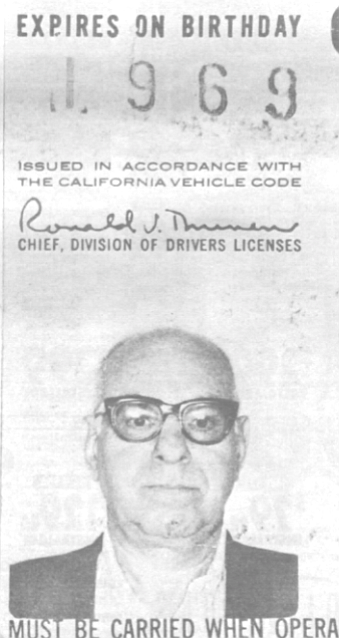 Duke Wolff's driver's license. They checked him into Scripps Memorial Hospital. The police had investigated his wallet and he had Blue Cross. This was a shock.