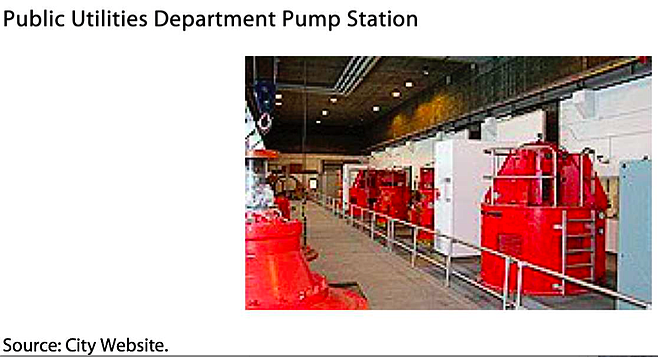 """""""SDG&E swapped out and moved the location of three meters at a sewer pump station."""""""
