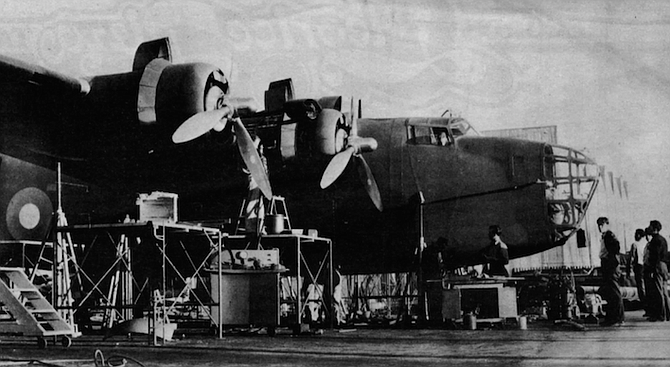 """B24s at Convair. """"At peak capacity Convair was building about one hundred Liberator bombers a week! From scratch!"""" - Image by San Diego Historical Society"""