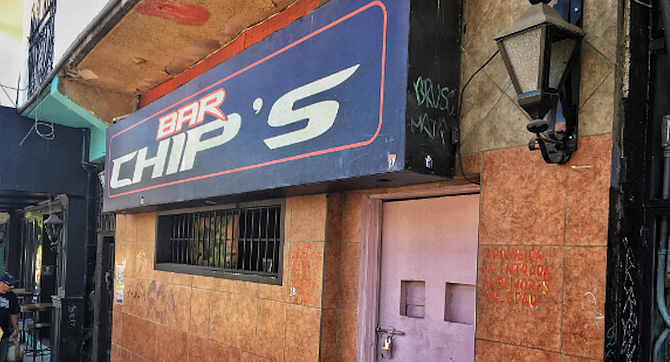 Chip's Bar. In 2012 the transgender bartender known as Eli would promptly kick out by force anyone that was caught smoking or doing any drugs.