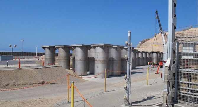 San Onofre dry storage casks