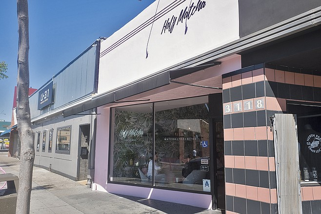 A dedicated matcha shop in North Park