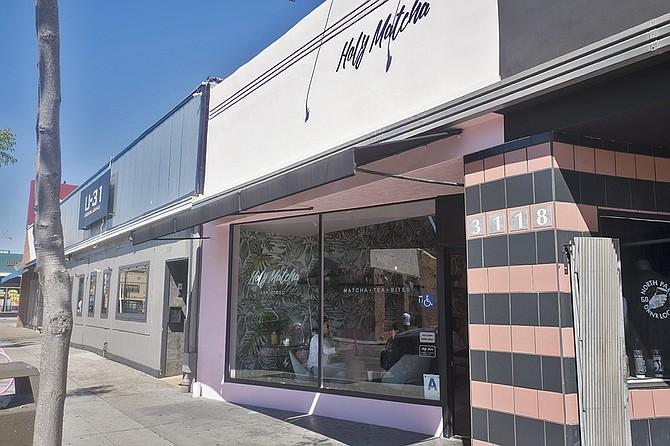 A dedicated matcha shop in North Park