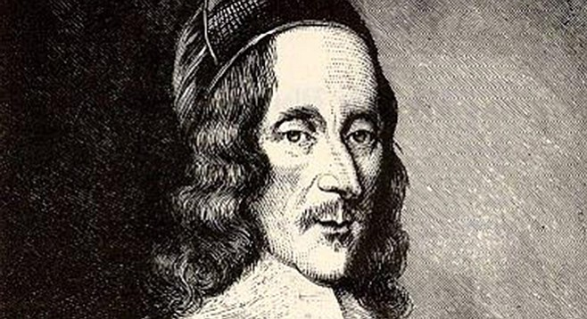 "George Herbert, one of the leading ""metaphysical poets"" of the 17th Century"