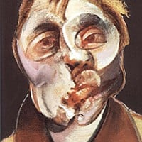 Hugh Davies will discuss all things Francis Bacon. Pictured: a self-portrait by the artist.