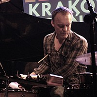 Kjell Nordeson (pictured) joins Øyvind Brandtsegg for fresh sounds at Bread & Salt