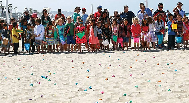 Sunday, April 16: Easter at the Beach