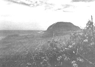 Mt. Suribachi from above Red Beach II. Red Beach I and Red Beach II, hardly as dramatic as Normandy's Omaha and Utah — but the Japanese had designed their defenses to be, and in the end were, much bloodier.