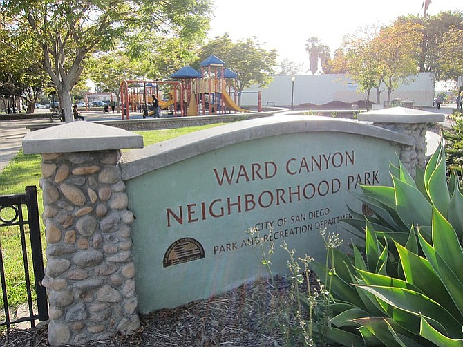 Normal Heights has two main parks. The largest is Ward Canyon Park; the other is Adams Park, next to the elementary school.