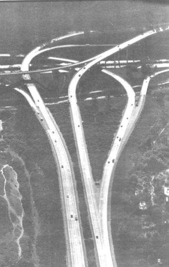 "15 at the 52. ""When they built highway 52, at first it seemed that hardly anyone was using it."""