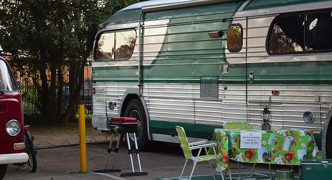 """""""Where's Pinkman's ride at?"""" This was the RV that much of the TV series, Breaking Bad, was filmed in."""