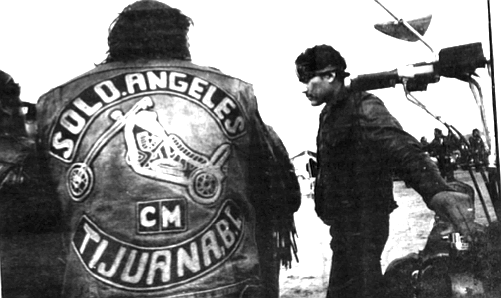 Tijuana's Solo Angeles looked, with a few anachronisms, like bad guys from a Clint Eastwood spaghetti western.