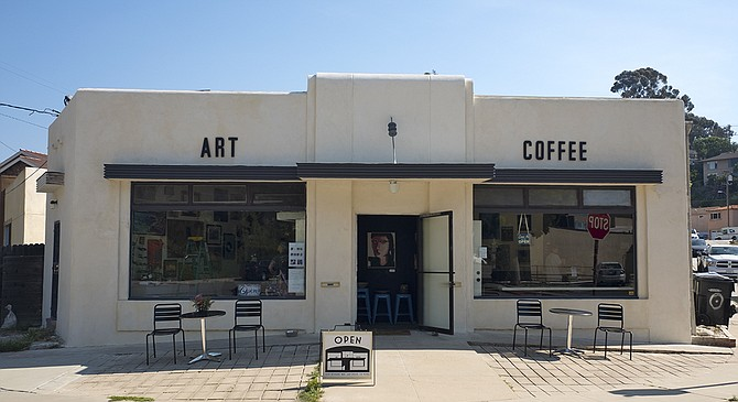 The Bean Counter brings art and coffee to Reynard Way in Mission Hills.