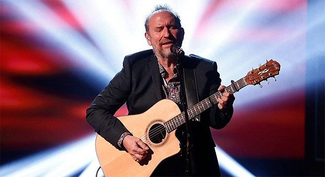 At the Belly Up, one-time Men at Work singer Colin Hay