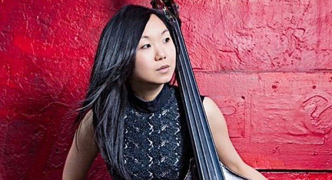 The Linda May Han Oh Quartet is at the Athenaeum Music & Arts Library for this year's Farrell Family Jazz Series
