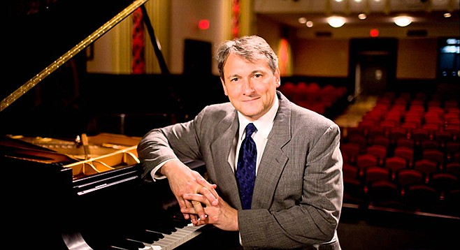 Christopher O'Riley will cover Stravinsky and Radiohead at the Auditorium at Scripps Research Institute