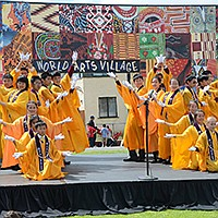 Linda Vista hosts a muliticultural fair and parade