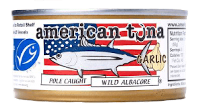 American Tuna offers can labels that allow consumers to trace their fish back to the vessel that landed the catch.